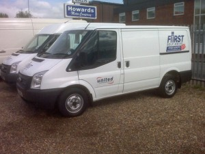 Image of First Self Drive van